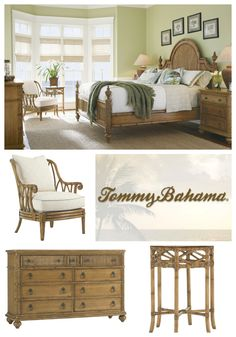 Immersing yourself in the casual comfort of island living can be as easy as walking through your own front door with the Beach House Collection by Tommy Bahama Home.