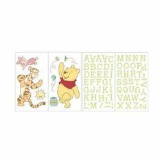 Amazon.com: Disney Baby - Winnie the Pooh Wall Decals Stickers: Baby