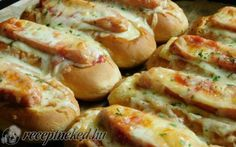 Sütőben sült hotdog recept fotóval
