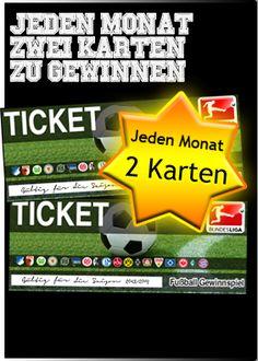 Bei uns haben Sie jeden Monat die Chance auf zwei Tickets für die 1. und 2. Bundesliga! Sind Sie ein echter Fan und wollen ihrem Lieblingsclub von ganz nah anfeuern? Dann machen Sie jetzt mit und holen Sie sich mit etwas Glück bald ihre Karten ab! Zudem verlosen wir die Sky Fußball-Flatrate mit Fußball Bundesliga und UEFA Champions League.