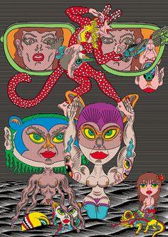 Update: The Psychedelic Works of Keiichi Tanaami: keiichi_tanaami_13_20120708_1349978505.jpeg