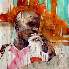 """Nassau #4: Bay St. Girl"" by Nicholas Simmons"