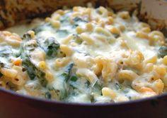 Recipe of the Day: Creamy Spinach Macaroni Bake
