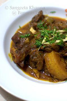 banaras ka khana: mutton curry UP home style...