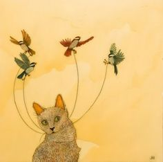 Jenny Keith Hughes - Cat's Dream