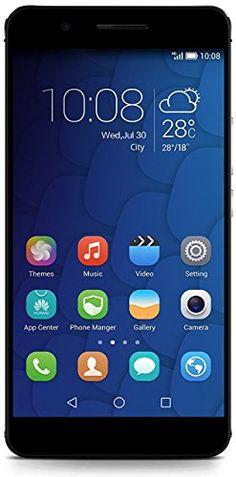 Honor 6 Plus Smartphone débloqué 4G (Ecran : 5.5 pouces Full HD – 32 Go – Double SIM – Android 4.4 KitKat) Noir