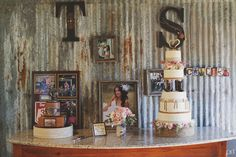 Eclectic Rustic barn decor - Texas Hill Country Wedding Shae Fisher and rodeo cowboy Tyson Durfey