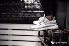 619158c2e More Pics of the adidas YEEZY BOOST 350 Triple White Emerge  With the  mysterious heel tab.