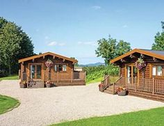 This is the stunning Blackwell Lodges near to Carlton-in-Cleveland on the edge of the Yorkshire Coast and Moors.  The quiet lodge park escape has a choice of lodge accommodation to sleep six people.  Relax in the private hot tub as you admire the beautiful surrounding countryside.