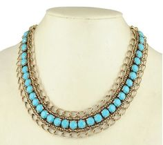 Choose Yours - Vintage Style Statement Necklace. Starting at $1 on Tophatter.com!