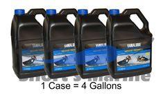 Yamaha LUB-2STRK-W1-04 Yamalube 2W Watercraft 2-stroke Oil Case of 4 Gallons #carscampus
