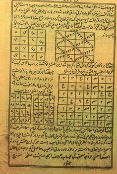 """""""Ketaab e Naghsh e Soleymaani"""", in invocations, magic and talismans, Online Quran, Magic Squares, Duaa Islam, Islamic Teachings, Islamic Messages, Free Pdf Books, Books To Read Online, Lost & Found, Occult"""