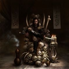Throne Of Bones by Durnir