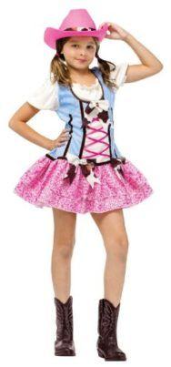 Girls Cowgirl Costume Girls Rodeo Sweetie Halloween Costume WB #Halloween #Cowgirl #Costume