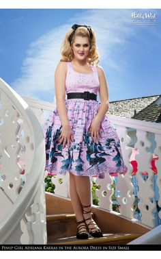 Pin Up Girl Clothing Com Pinup Couture  Heidi Dress In Black Pin Dot  Plus Size  Pinup