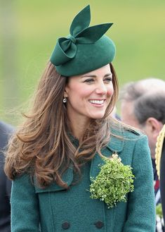 zimbio: The Duke And Duchess Of Cambridge Attend The St Patrick's Day Parade At Mons Barracks, Aldershot 3/17/2014