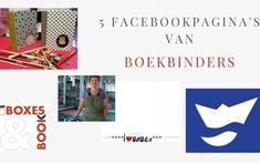 5 facebookpagina's van boekbinders die de moeite waard zijn om te volgen Book Binding, Company Logo, Vans, Logos, Handmade, Tutorials, Paper, Hand Made, A Logo