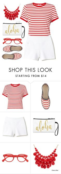 """""""7/16 ts"""" by countrycousin ❤ liked on Polyvore featuring Miss Selfridge, John Lewis, Lacoste, See Concept and Alexa Starr"""