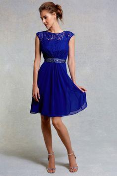 Lori Lee Lace Short Dress