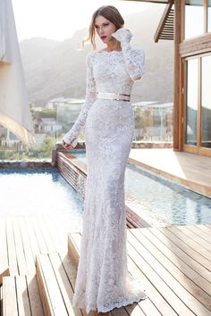 Lace loveliness from Julie Vino: http://www.stylemepretty.com/2015/03/26/designer-spotlight-from-the-smp-look-book-a-giveaway-discounts/