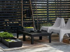 Japanese inspired patio / IKEA