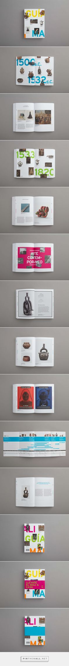 Guía MALI - Museo de Arte de Lima on Behance... - a grouped images picture - Pin Them All