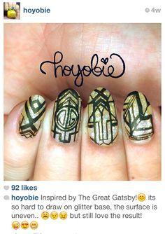 Greast Gatsby nails... hard but beautiful <3