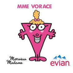 Mme Vorace by Aurore - France #evian #liveyoung #littemiss