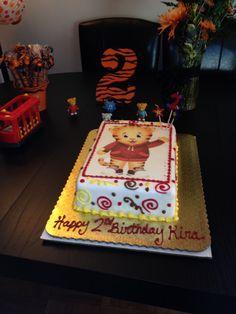 Kira's Daniel Tiger Birthday Cake