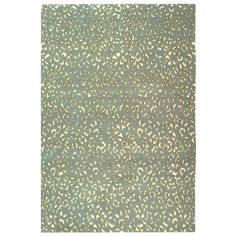 Suzanne Kasler Jaguar Aqua Cream Wool   $3,780