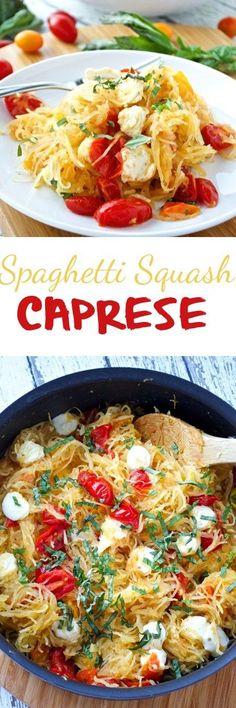 Spaghetti Squash Caprese Pin