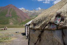 Lenin Peak Base Camp