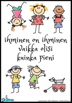 Vahva minä Nursery School, Live Life, Motivational Quotes, Preschool, Comics, Kids, Gardening, Young Children, Boys