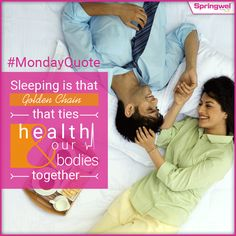 Insufficient #Sleep makes you unproductive & short tempered. It is the good time to revamp your lifestyle with a healthy sleeping routine.  #MondayQuote