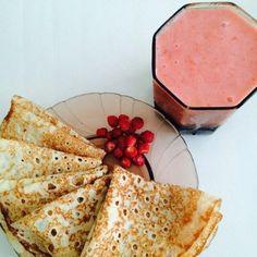 grafika breakfast and pancakes