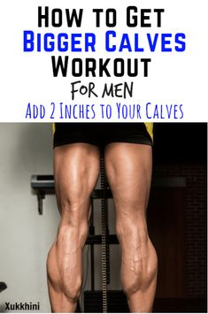Featuring proven techniques that shattered my sticking point, and forced my calves to grow 2 inches in size | Bigger Calves | Bigger Calves Workout | Bigger Calves for Men. via @xukkhini