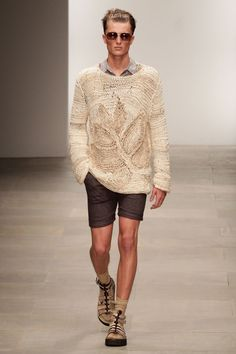 JAMES LONG SPRING/SUMMER 2012 MEN'S COLLECTION