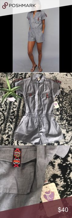 I just added this listing on Poshmark: Lucca Couture Denim Romper. #shopmycloset #poshmark #fashion #shopping #style #forsale #Lucca Couture #Pants