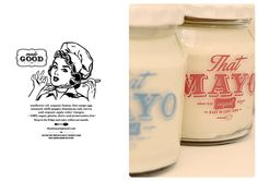 That Mayo Branding and Design Apple Vinegar, Canvas Designs, Sunflower Oil, Made Goods, Mayonnaise, Stevia, Dressings, Typography, Packaging