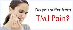 How to Deal with TMJ Pain