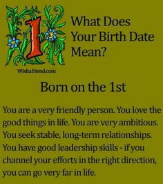 Things you should know before dating a january born