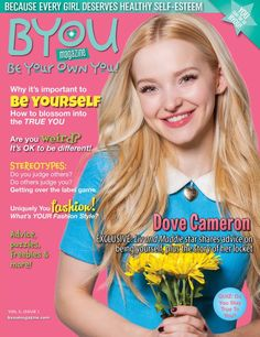 Great news #Dovelies! Dove Cameron is the cover girl of yet another magazine! Be sure to pick up a copy of Dove in @byoumagazine when it hits stands soon!