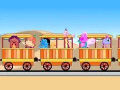 Musicas Infantis - O Trem de Ferro - Grilo Feliz e seus amigos