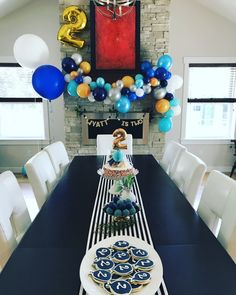 Second birthday, two year old birthday, balloon themed party, simple birthday party, beautiful colors, toddler birthday party, party decor, party, birthday decor