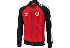 adidas FC Bayern Superstar Track Top. Hot at www.soccerpro.com right now!