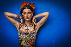 Image result for frida kahlo hair