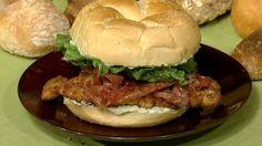 Nadia G.'s Saltimbocca Chicken  Cutlet Sandwich
