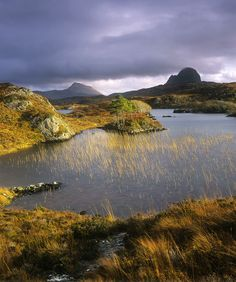 Family holiday destination - Mount Suilven in Sutherland.