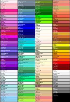 colors | Web colors Picture Slideshow                                                                                                                                                      More