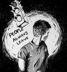 """""""People always leave."""" - One Tree Hill People Always Leave, Peyton Sawyer, Everybody Leaves, One Tree Hill Quotes, Lucas Scott, Chad Michael Murray, Tv Show Quotes, Someone Like You, First Tv"""